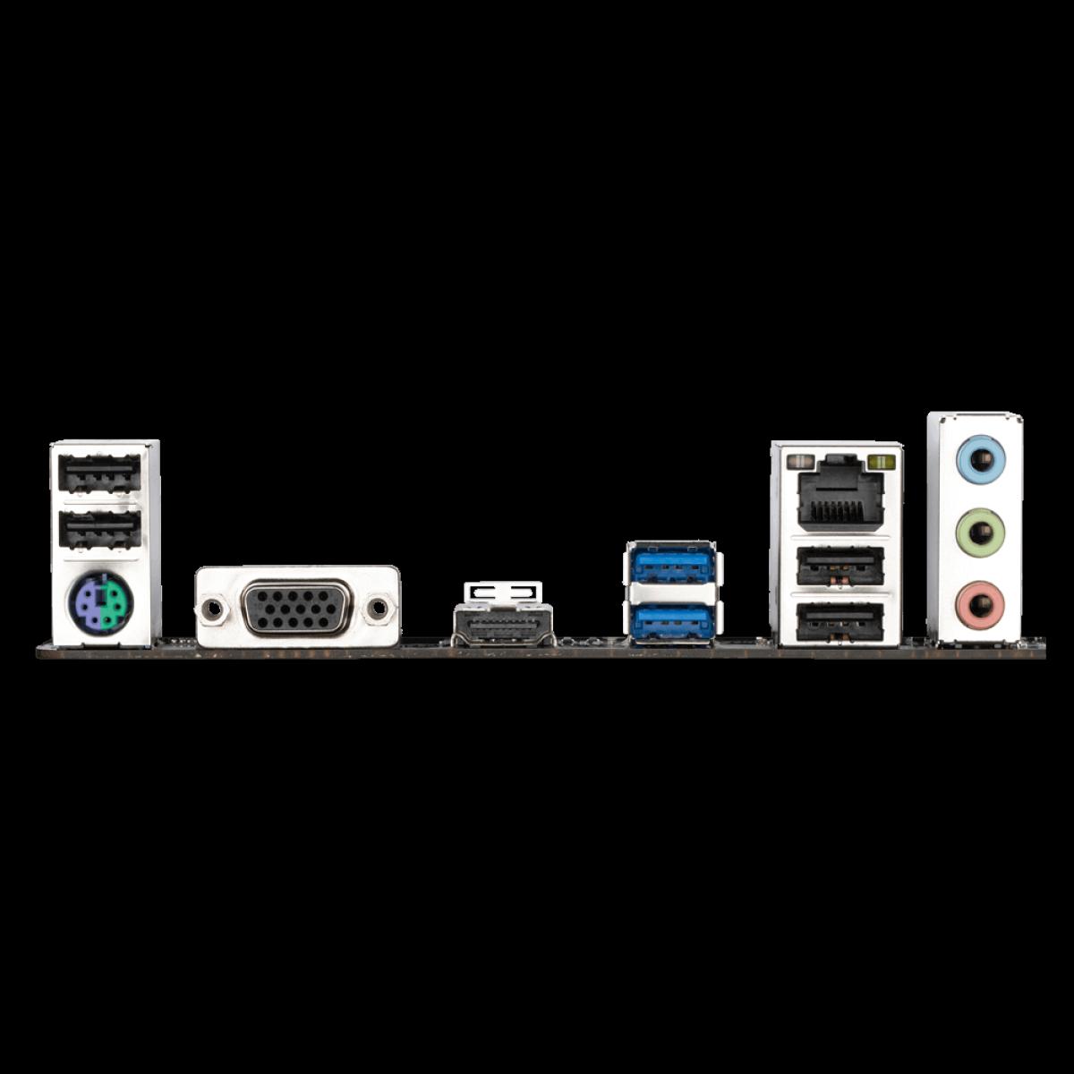 Placa Mãe Gigabyte H510M H, Chipset H510, Intel LGA 1200, mATX, DDR4