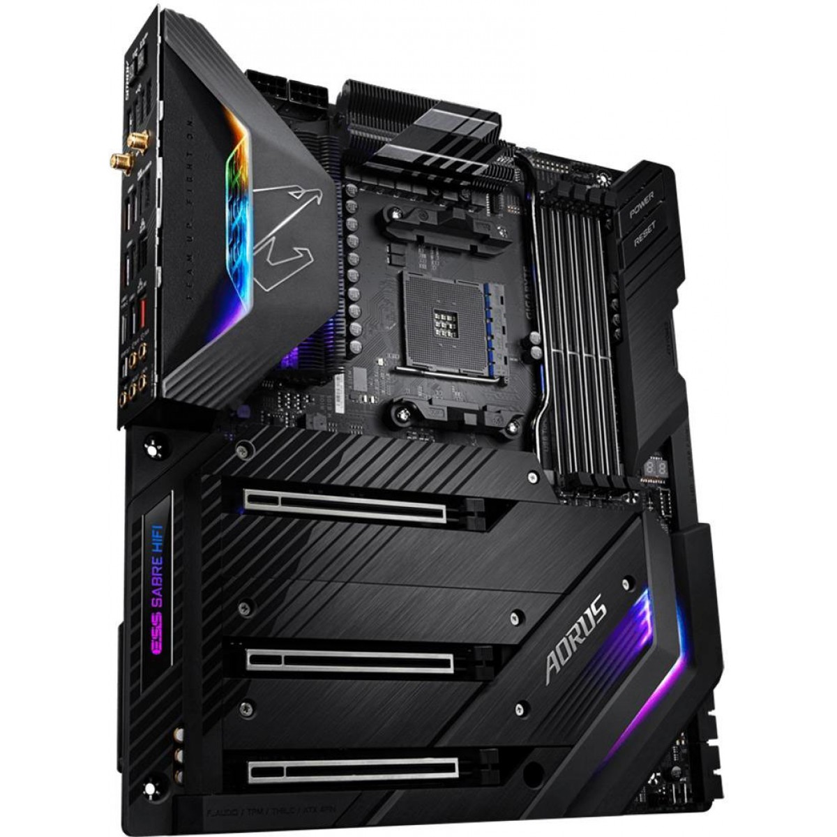 Placa Mãe Gigabyte X570 Aorus Xtreme, Chipset X570, AMD AM4, eATX, DDR4
