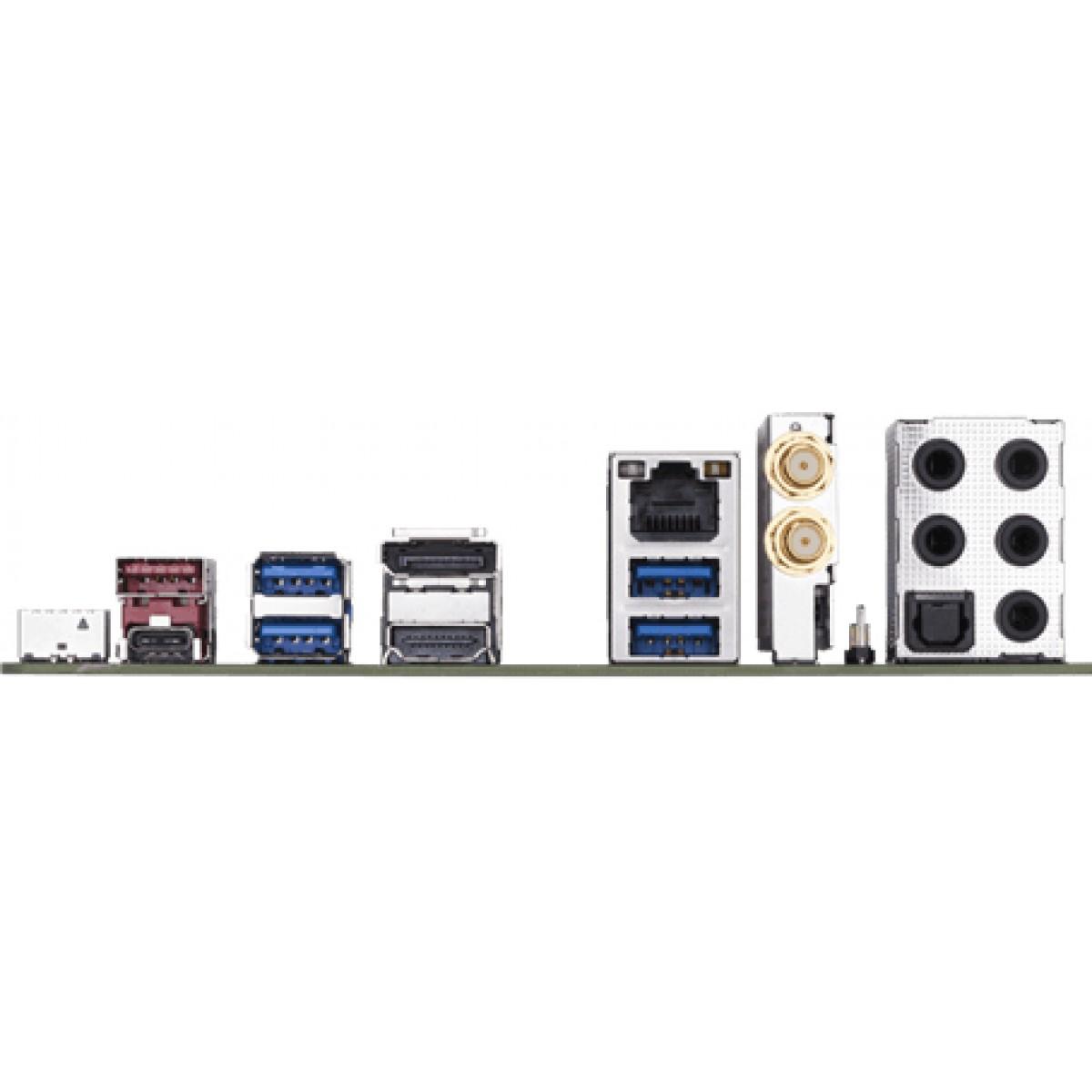 Placa Mãe Gigabyte Z390 I Aorus Pro Wifi, Chipset Z390, Intel LGA 1151, m-ITX, DDR4