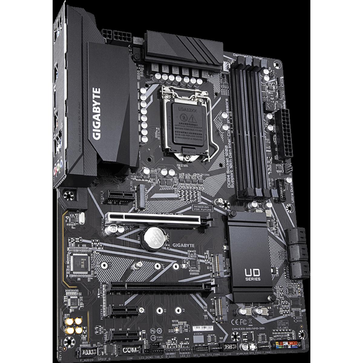 Placa Mãe Gigabyte Z490 UD, Chipset Z490, Intel LGA 1200, ATX, DDR4 - Open Box