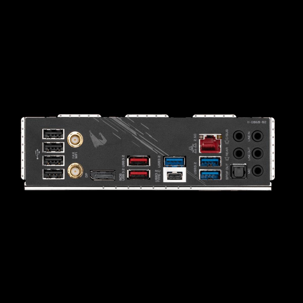 Placa Mãe Gigabyte Z590 AORUS ELITE AX, Wi-Fi, Chipset Z590, Intel LGA 1200, ATX, DDR4