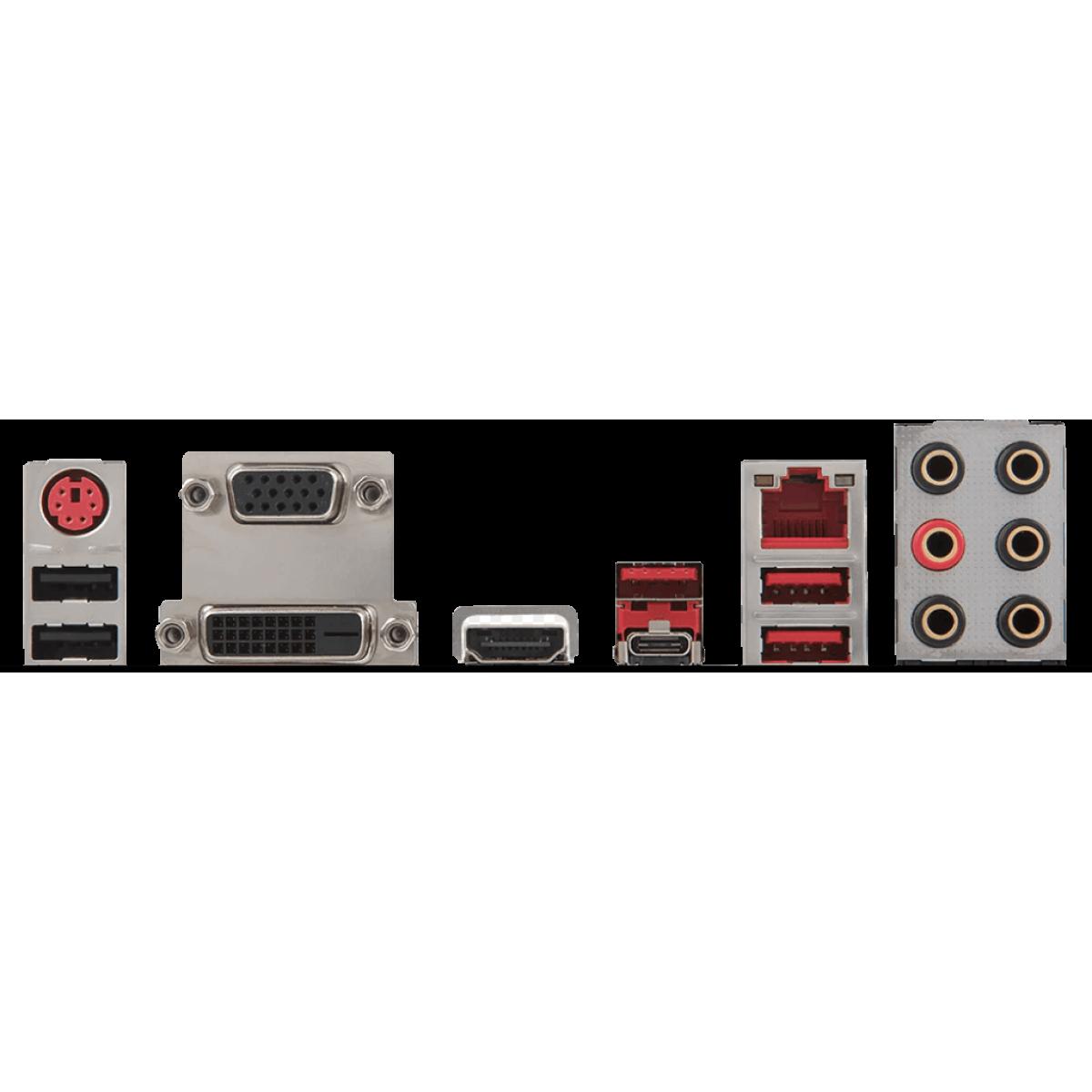 Placa Mãe MSI B350 Tomahawk Arctic, Chipset B350, AMD AM4, ATX, DDR4