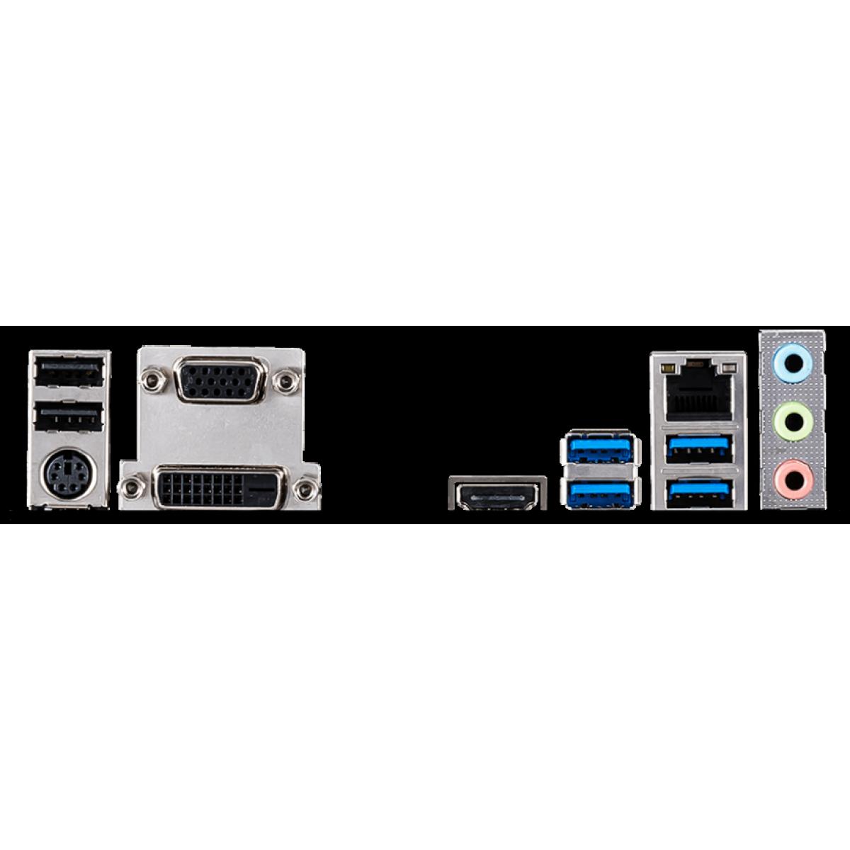Placa Mãe MSI B460M PRO, Chipset B460M, INTEL LGA 1200, mATX, DDR4, 911-7C88-008