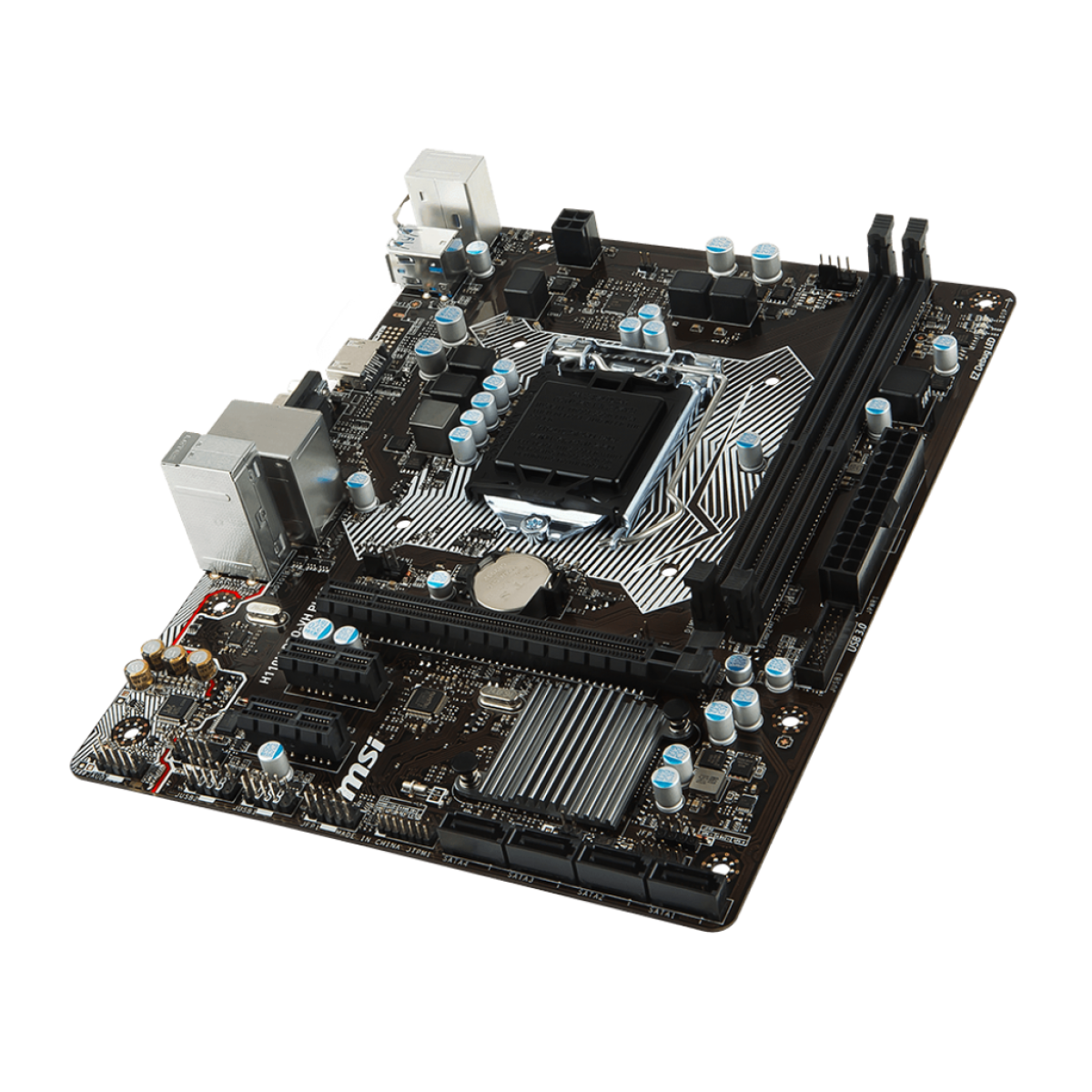 Placa Mãe MSI H110M PRO-VH PLUS, Chipset H110, Intel LGA 1151, mATX, DDR4