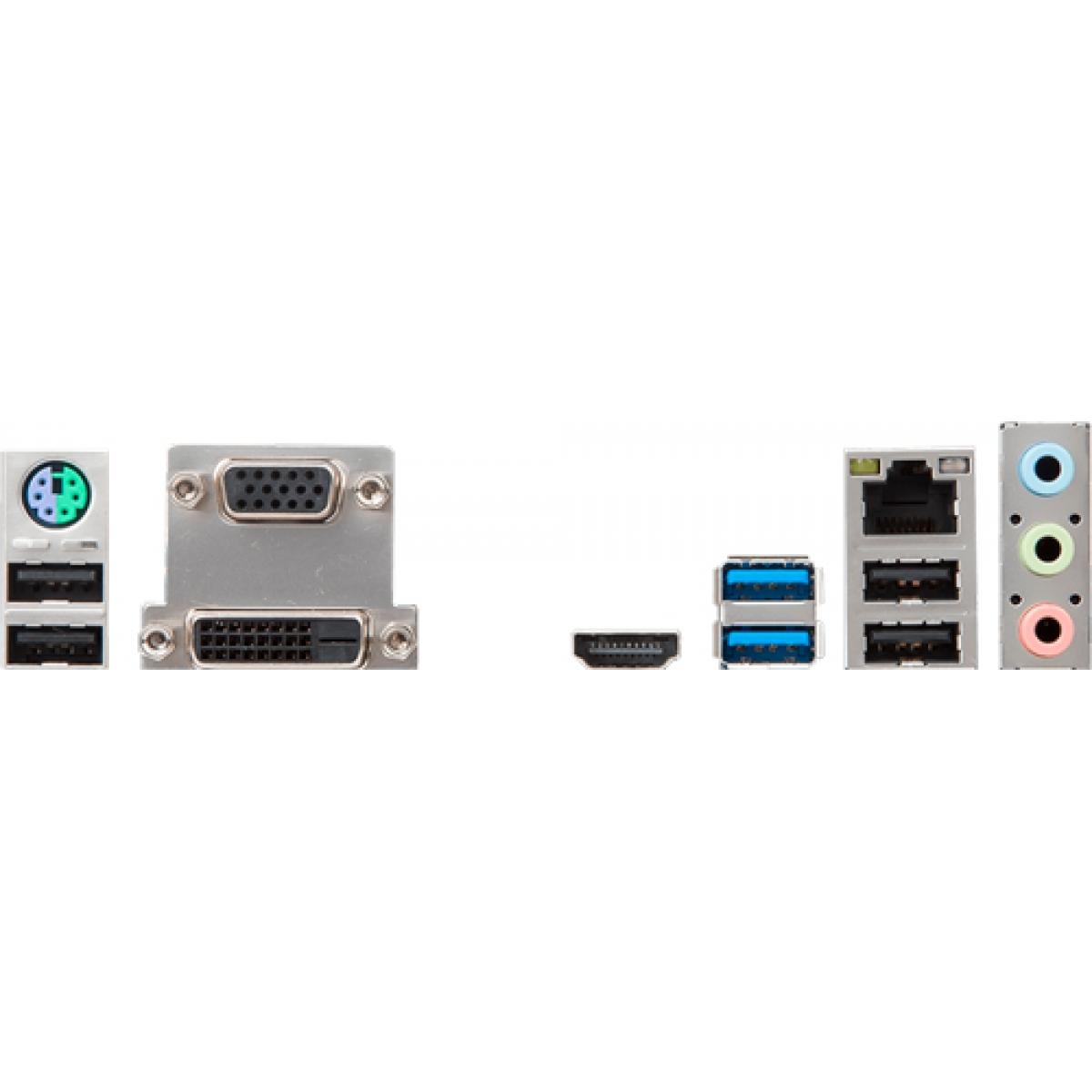 Placa Mãe MSI H310M PRO-M2, Chipset H310, Intel LGA 1151, mATX, DDR4