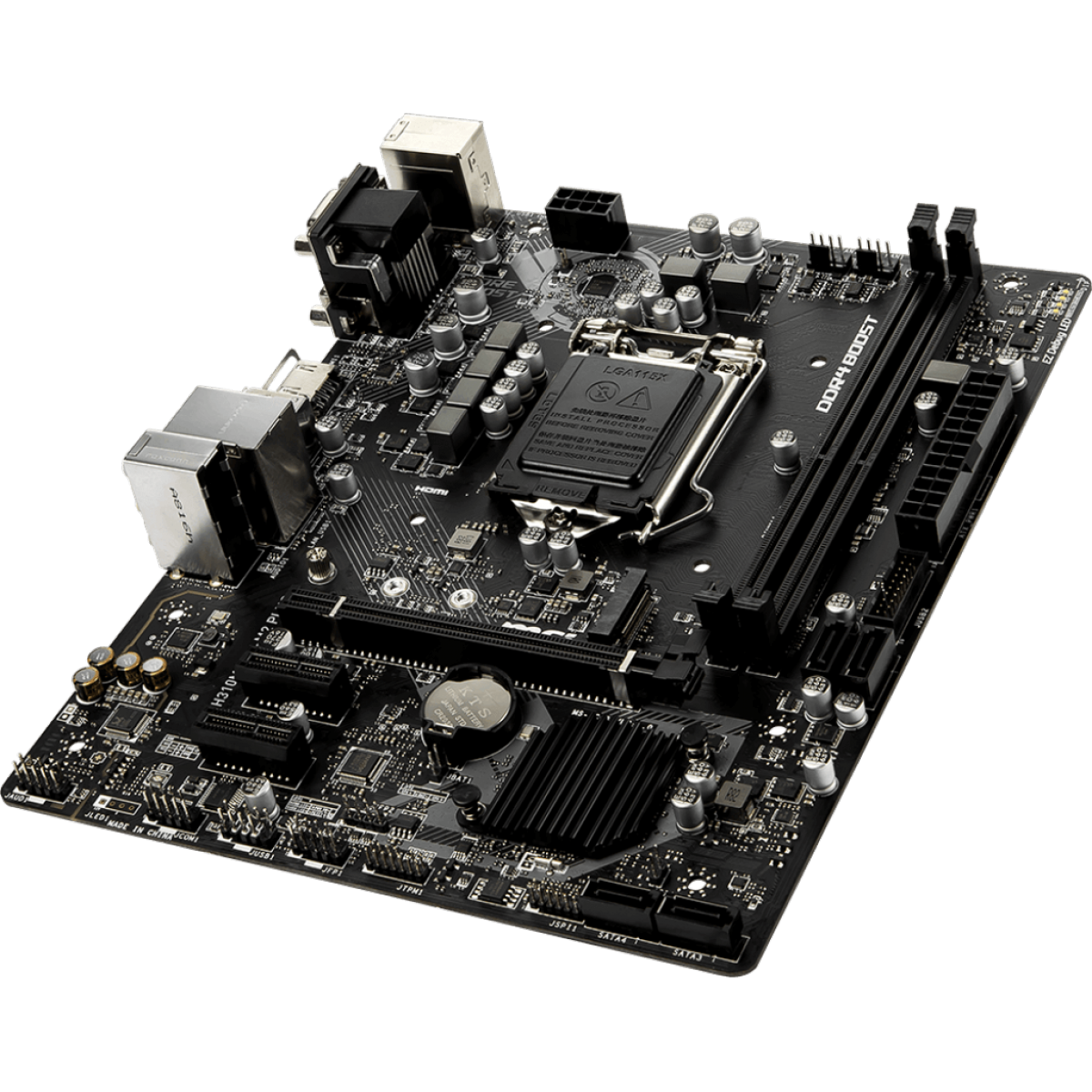 Placa Mãe MSI H310M PRO-M2 Plus, Chipset H310, Intel LGA 1151, mATX, DDR4