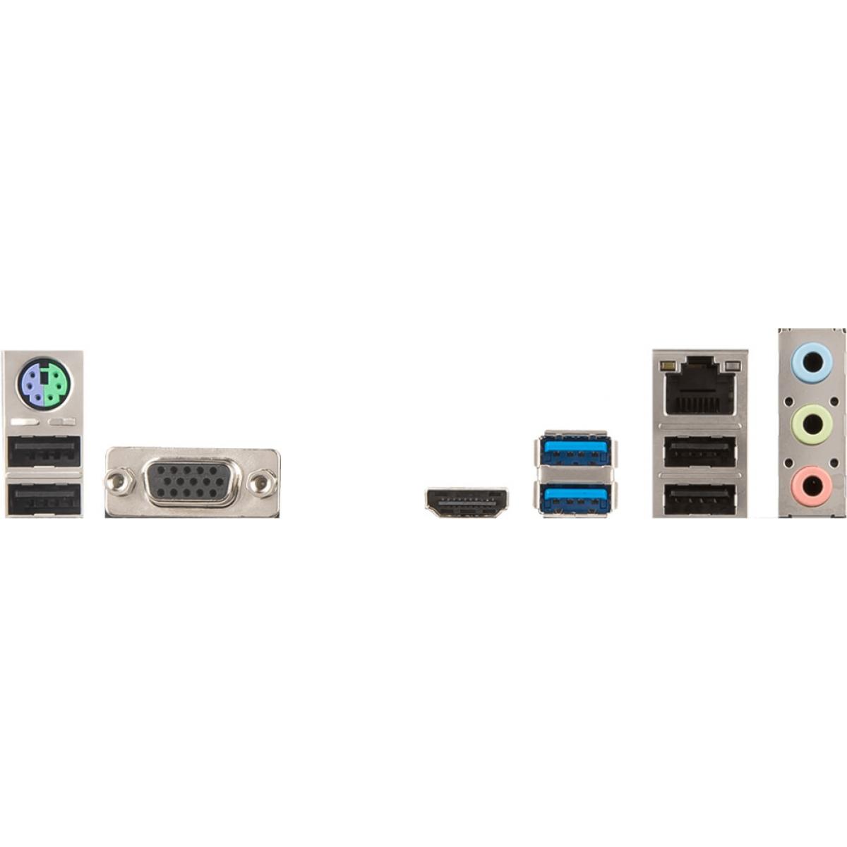 Placa Mãe MSI H310M PRO-VH, Chipset H310, Intel LGA 1151, mATX, DDR4