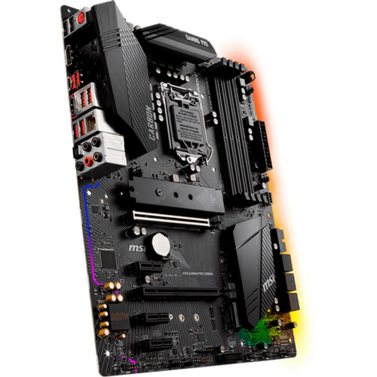 Placa Mãe MSI H370 Gaming Pro Carbon LGA 1151 DDR4