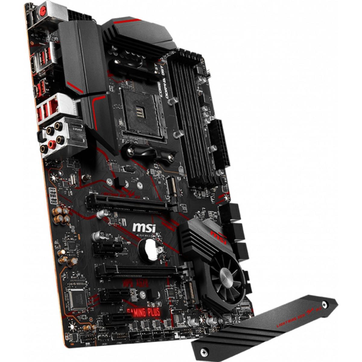 Placa Mãe MSI MPG X570 Gaming Plus, Chipset X570, AMD AM4, ATX, DDR4