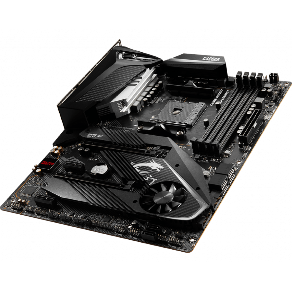 Placa Mãe MSI MPG X570 Gaming Pro Carbon Wifi, Chipset X570, AMD AM4, ATX, DDR4