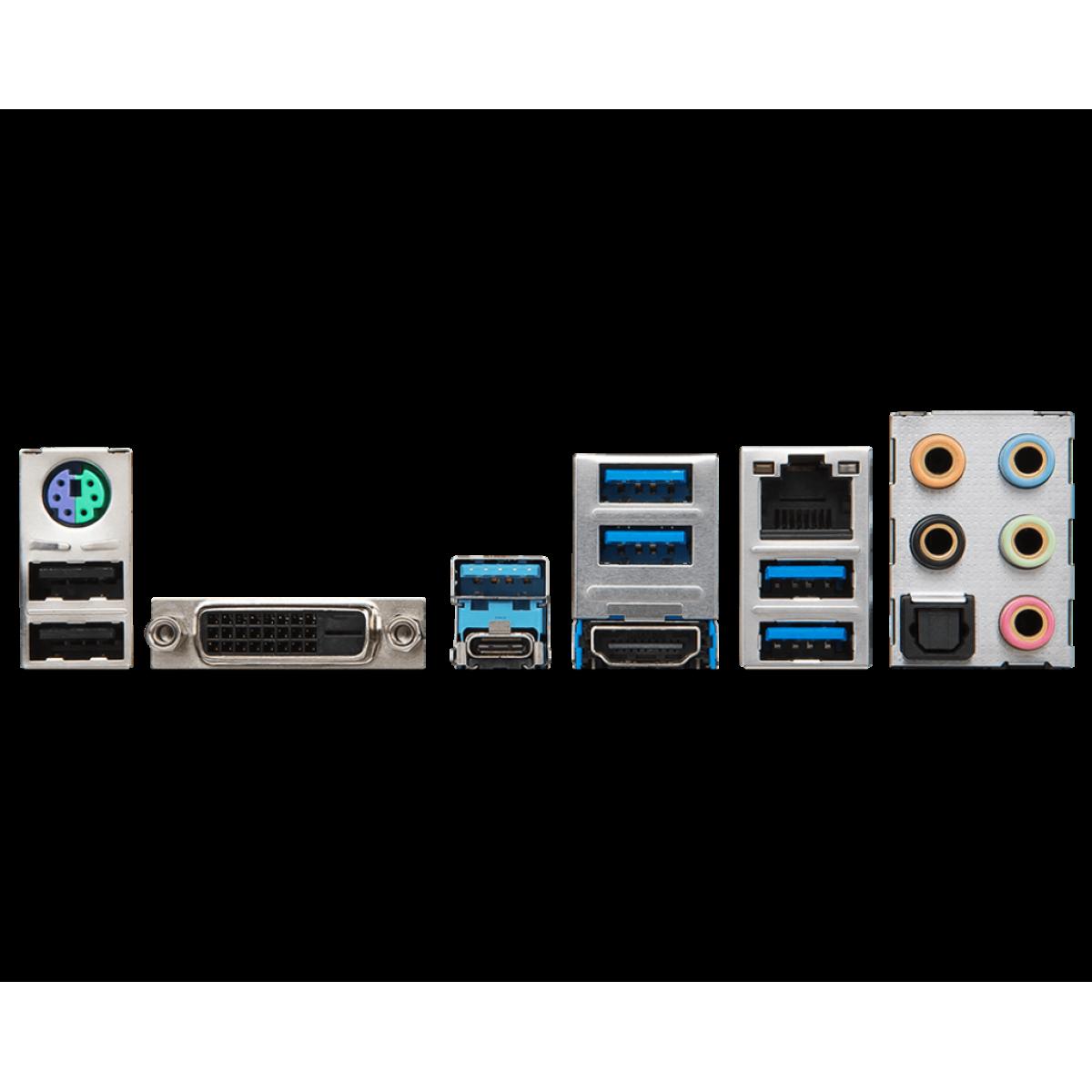 Placa Mãe MSI Z370 KRAIT GAMING, Chipset Z370, Intel LGA 1151, ATX DDR4