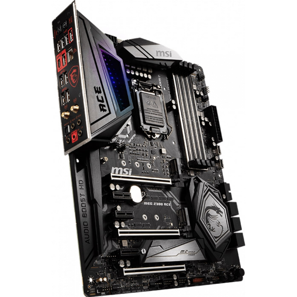 Placa Mãe MSI Z390 Meg Ace, Chipset Z390, Intel LGA 1151, ATX, DDR4