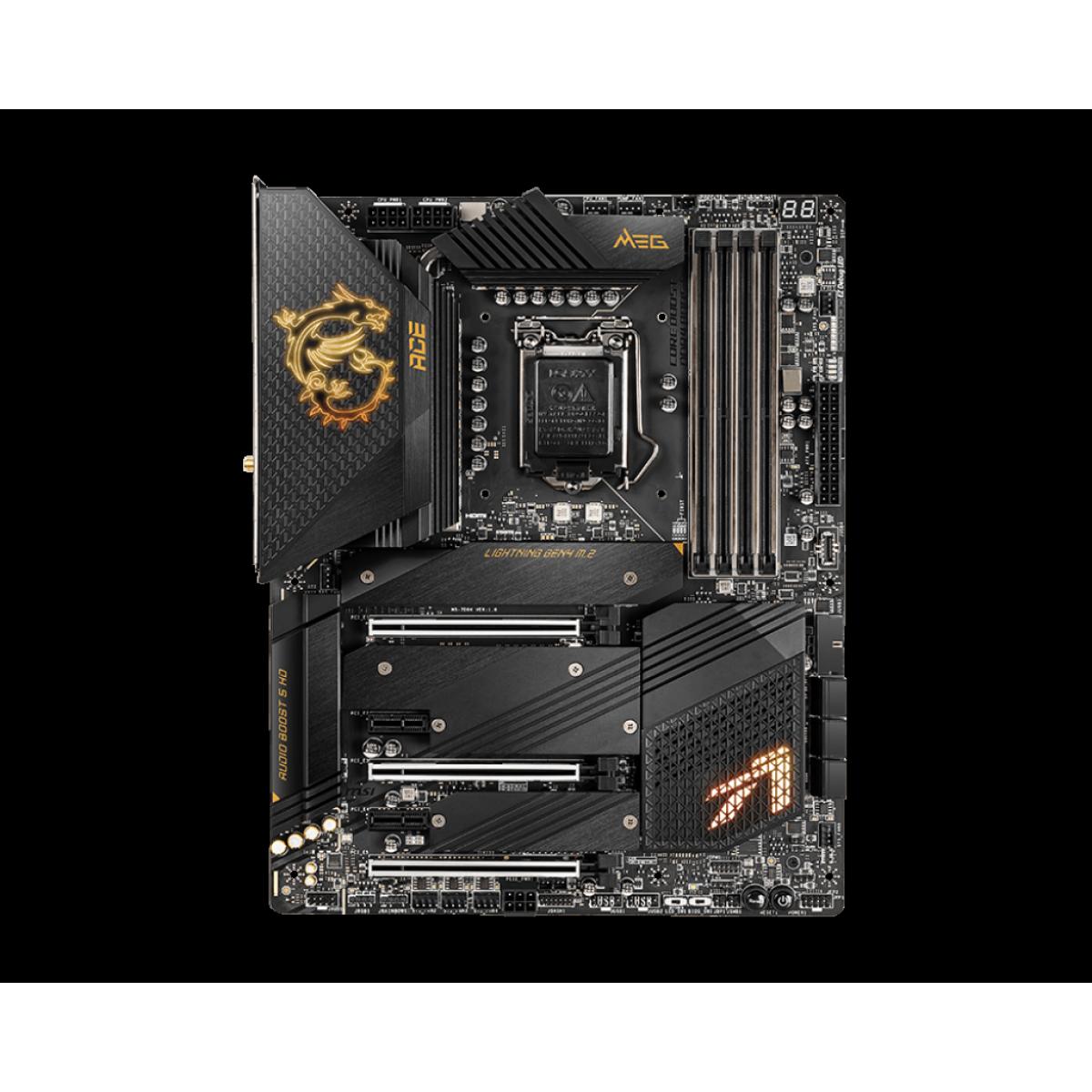 Placa Mãe MSI Z590 ACE, Chipset Intel Z590, Socket 1200, ATX, DDR4