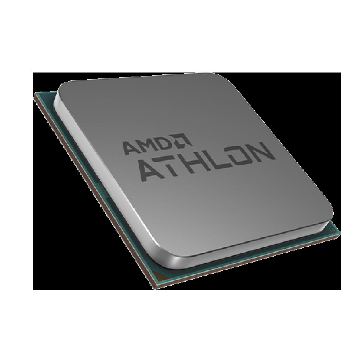 Processador AMD Athlon 200GE 3.2GHz, Dual Core, 5MB, AM4 - Sem Caixa