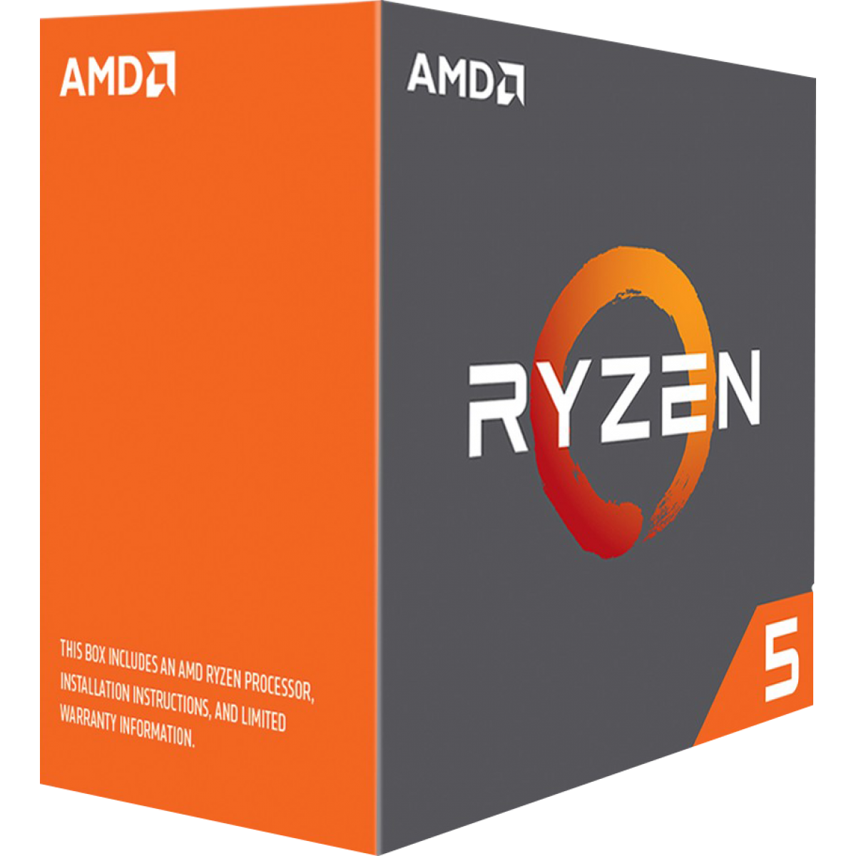 Processador AMD Ryzen 5 1600X 3.6GHz (4.0GHz Turbo), 6-Cores 12-Threads, S/Cooler, AM4, YD160XBCAEWOF, S/ Video