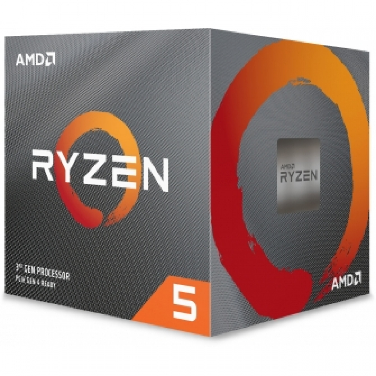 Processador AMD Ryzen 5 3600x 3.8ghz (4.4ghz Turbo), 6-cores 12-threads, Cooler Wraith Spire, AM4, YD360XBBAFBOX, S/ Video