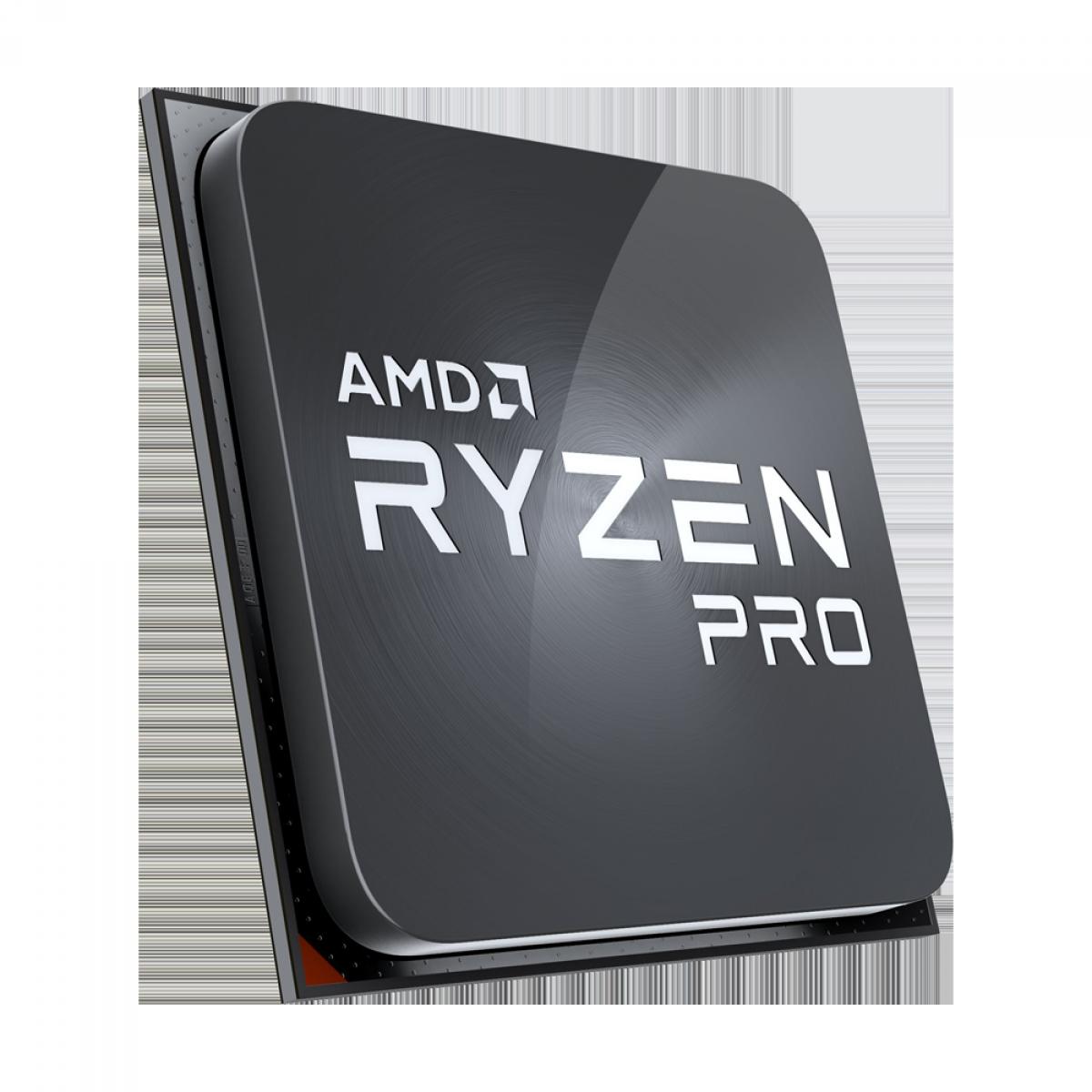 Processador AMD Ryzen 5 PRO 2400GE 3.2GHz (3.8GHz Turbo), 4-Cores 8-Threads, AM4, Sem Cooler, Sem Caixa
