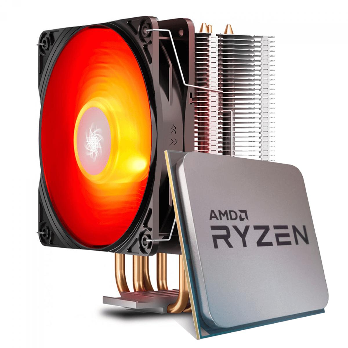 Processador AMD Ryzen 7 2700 3.2GHz / 4.1GHz Max Turbo Octa Core 16MB + Cooler Deepcool Gammaxx 400 V2