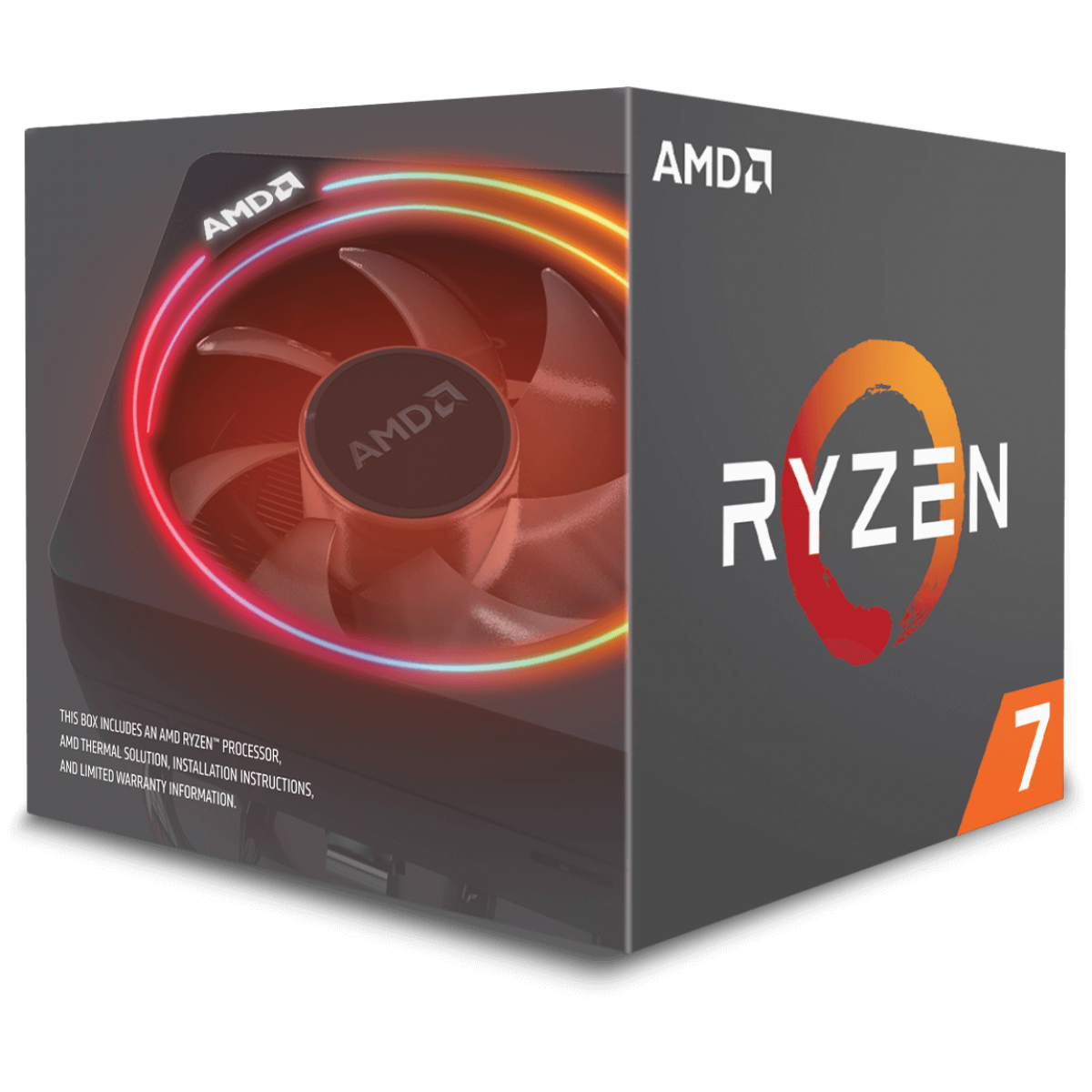 Processador AMD Ryzen 7 2700X 3.7GHz (4.3GHz Turbo), 8-Cores 16-Threads, Cooler Wraith Prism RGB, AM4, YD270XBGAFBOX, S/ Video