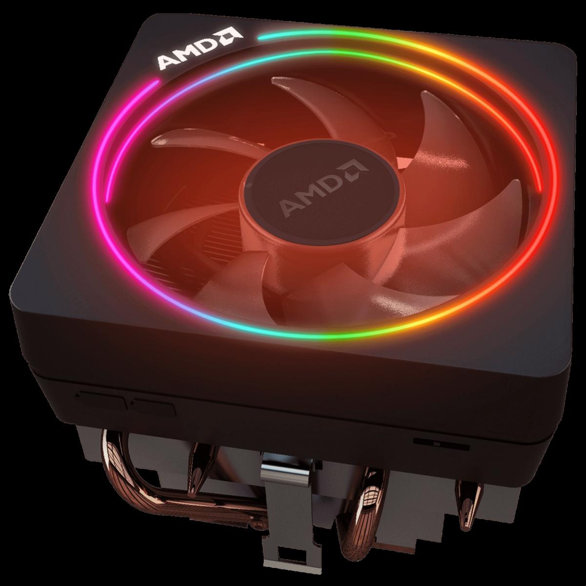 Processador AMD Ryzen 7 2700X 3.7GHz / 4.35GHz Max Turbo YD270XBGAFBOX Octa Core 16MB Cooler Wraith Prism RGB, S/ Video