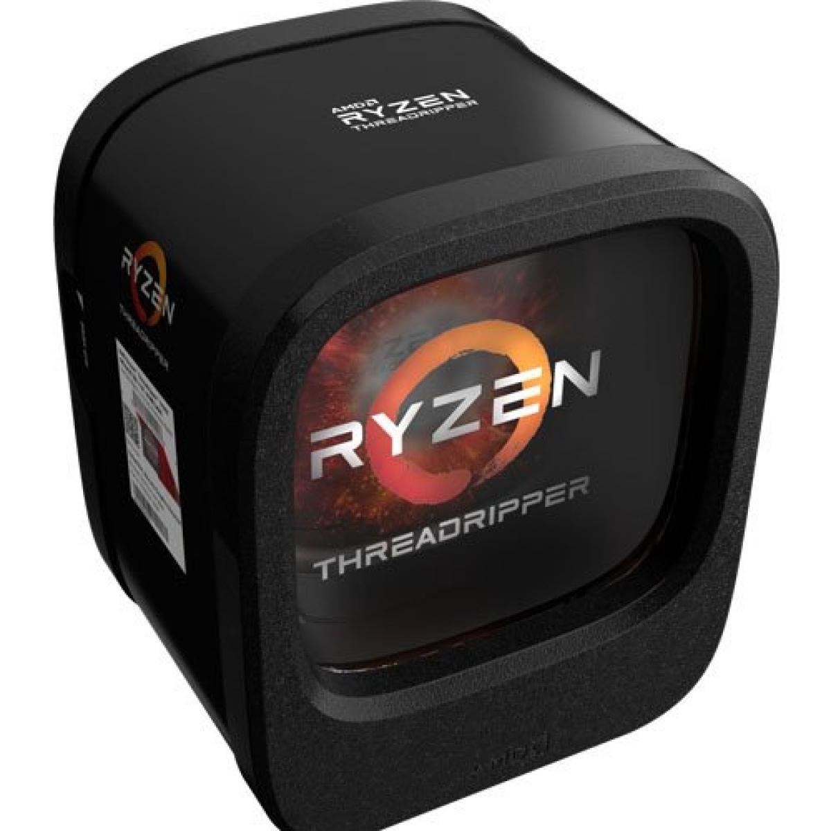 Processador AMD Ryzen Threadripper 1950X 3.4GHz (4.0GHz Turbo), 16-Core 32-Thread, TR4, YD195XA8AEWOF