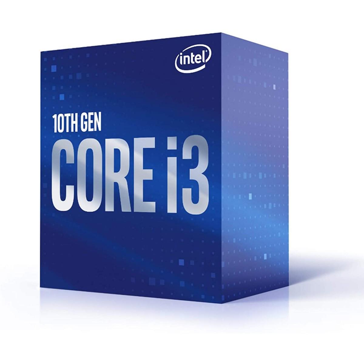 Processador Intel Core i3 10320 3.80GHz (4.60GHz Turbo), 10ª Geração, 4-Cores 8-Threads, LGA 1200, BX8070110320
