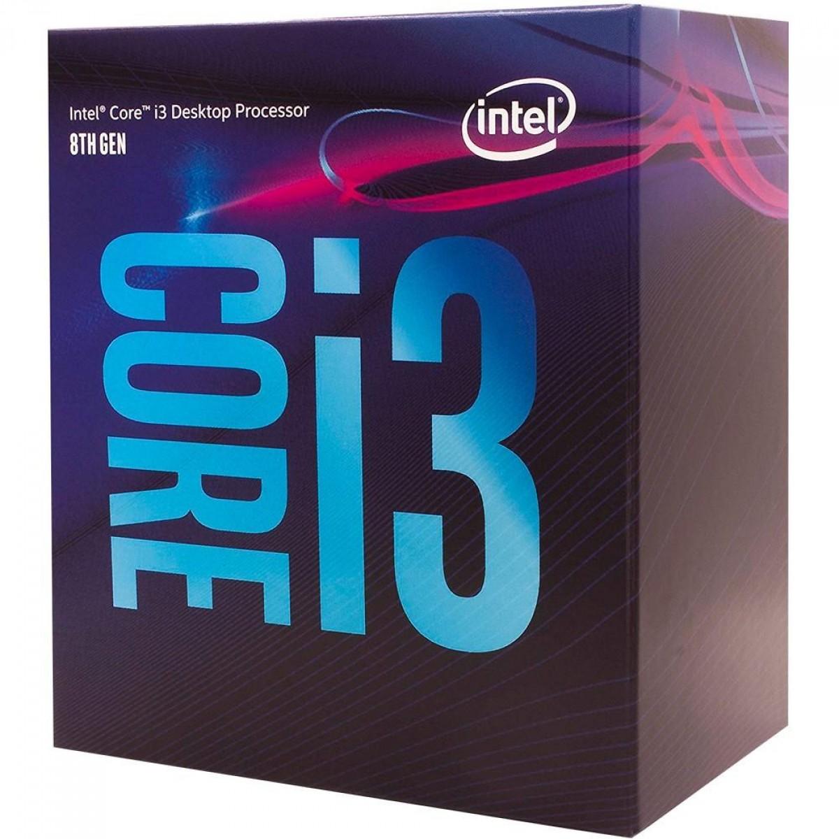 Processador Intel Core i3 9300 3.7GHz (4.3GHz Turbo), 9ª Geração, 4-Core 4-Thread, LGA 1151, BX80684I39300