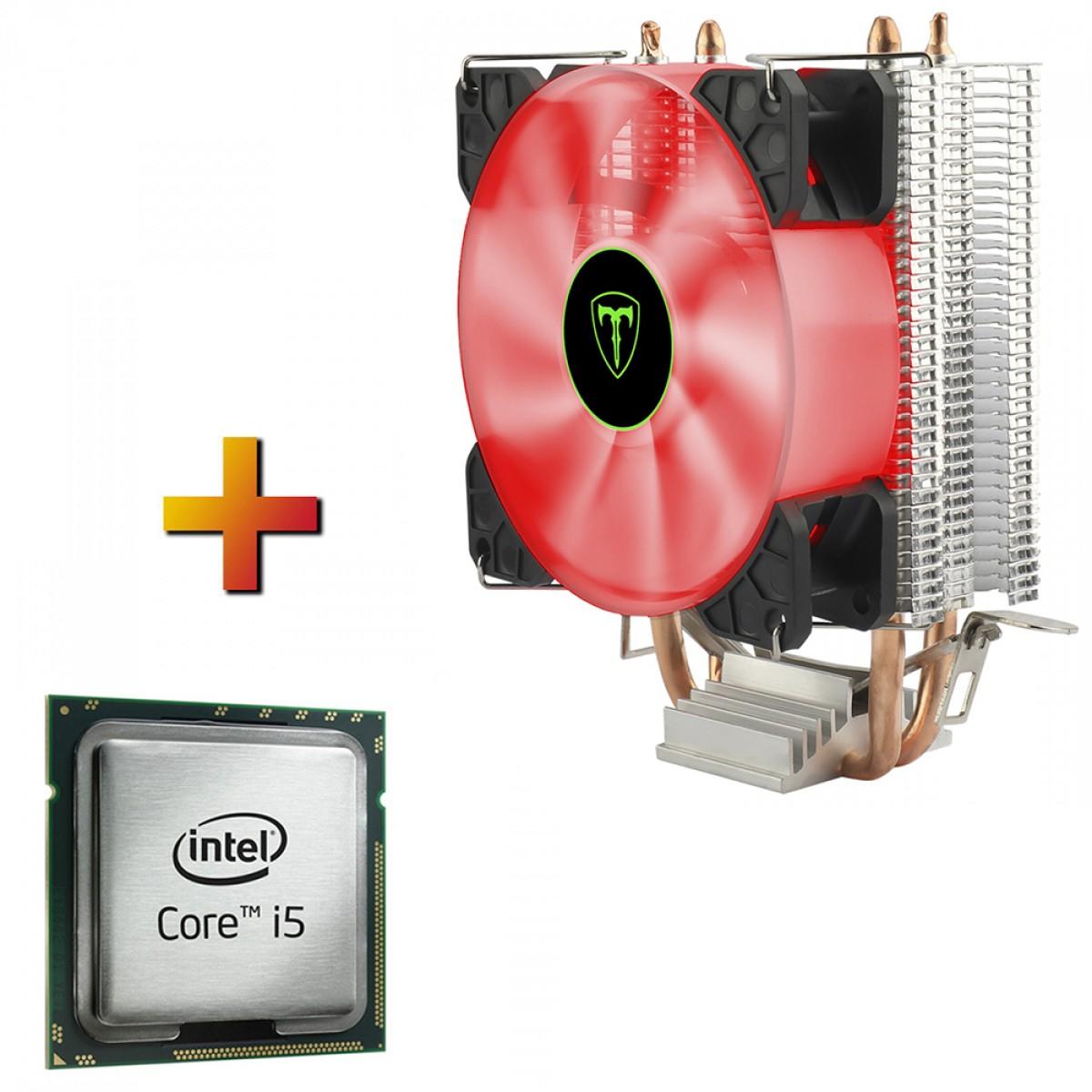 Processador Intel core i5 10400F 2.90GHz (4.30GHz Turbo) + Cooler T-dagger Idun R