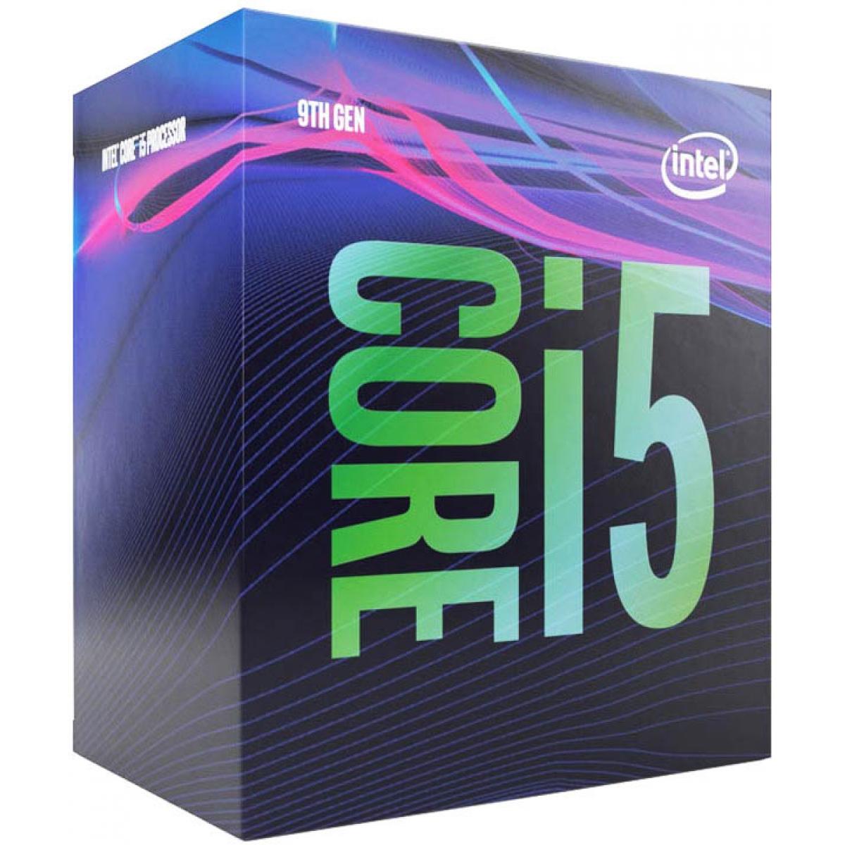 Processador Intel Core i5 9400 2.90GHz (4.10GHz Turbo), 9ª Geração, 6-Core 6-Thread, LGA 1151, BX80684I59400