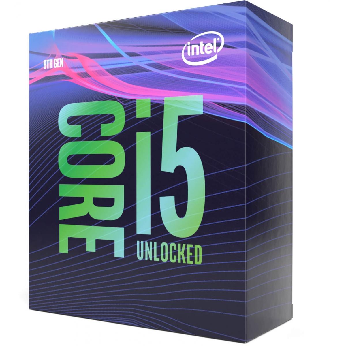 Processador Intel Core i5 9600K 3.70GHz (4.60GHz Turbo), 9ª Geração, 6-Core 6-Thread, LGA 1151, BX80684I59600K