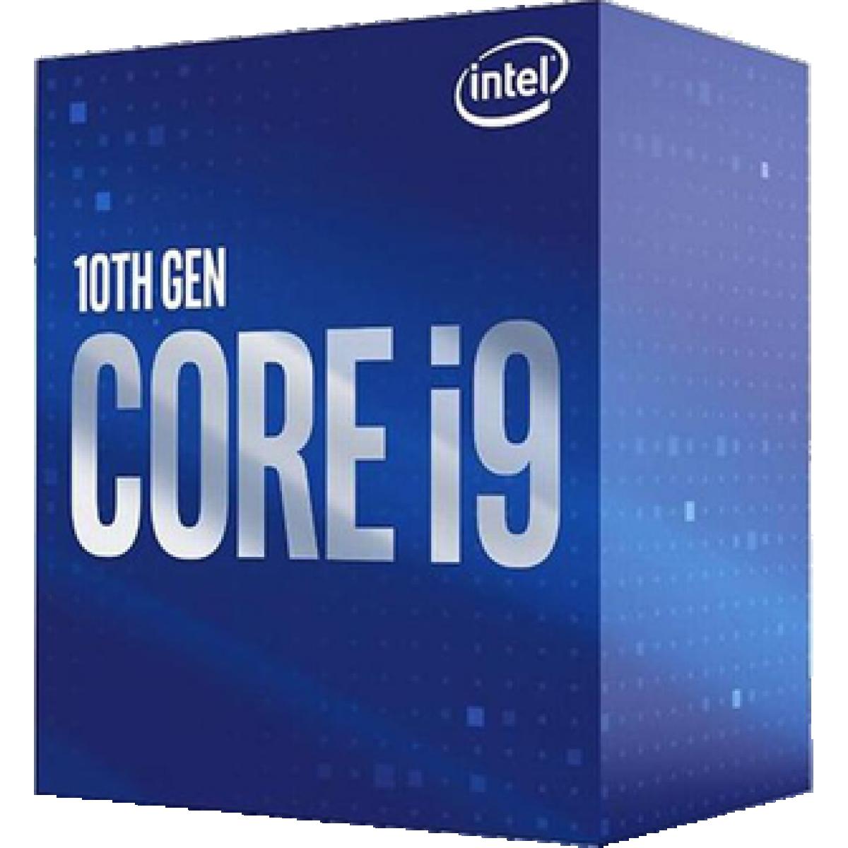 Processador Intel Core i9 10900, 2.80GHz (5.20GHz Turbo), 10ª Geração, 10-Cores 20-Threads, LGA 1200, BX8070110900