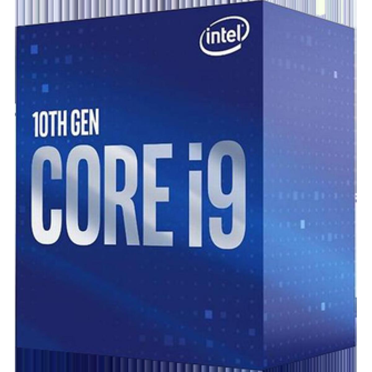 Processador Intel Core i9 10900KF, 3.70GHz (5.30GHz Turbo), 10ª Geração, 10-Cores 20-Threads, LGA 1200, BX8070110900KF
