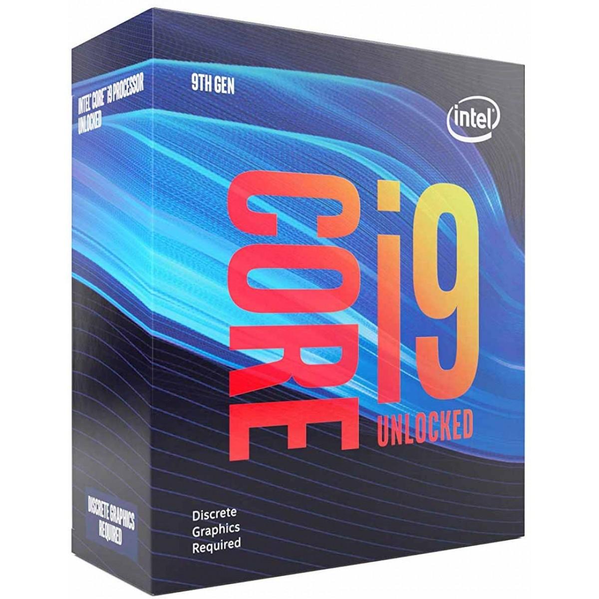 Processador Intel Core i9 9900K 3.60GHz (5.0GHz Turbo), 9ª Geração, 8-Core 16-Thread, LGA 1151, BX806849900K
