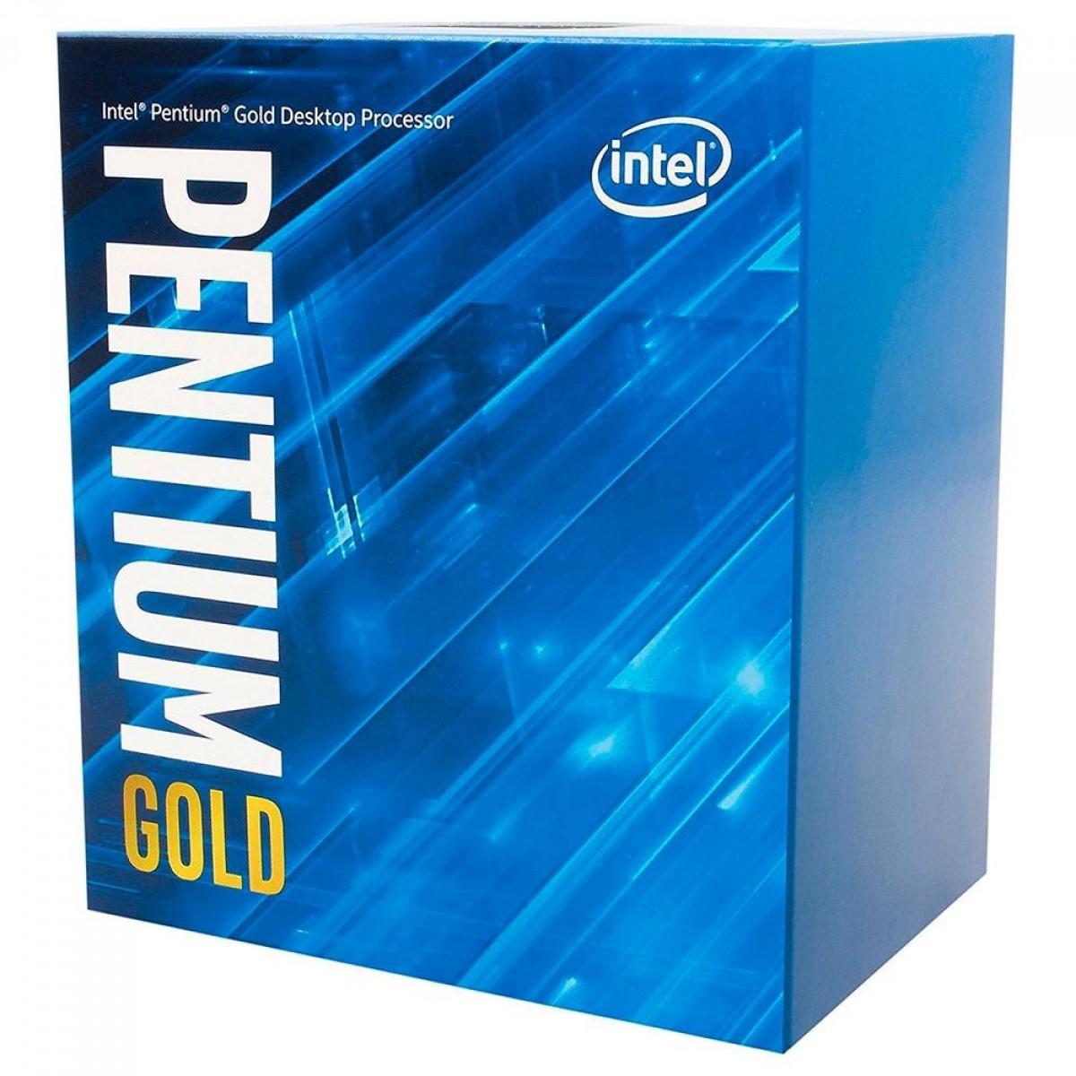 Processador Intel Pentium Gold G6400, 4.0GHz, 2-Cores 4-Threads, LGA 1200, BX80701G6400