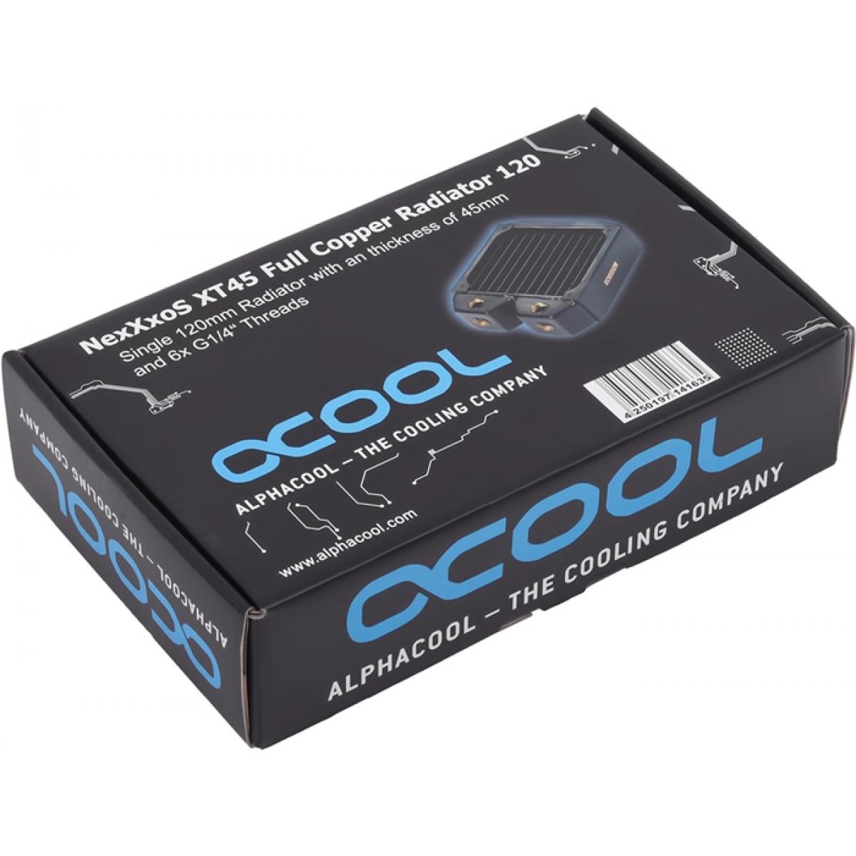 Radiador Alphacool NexXxos XT45 Puro Cobre 120MM