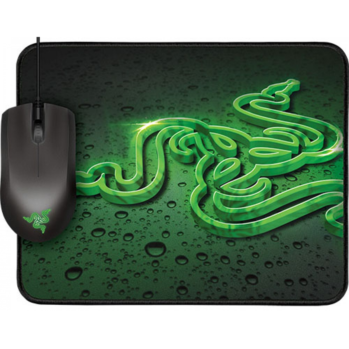 Razer Combo Goliathus Small Speed & Abyssus Green 1800 DPI
