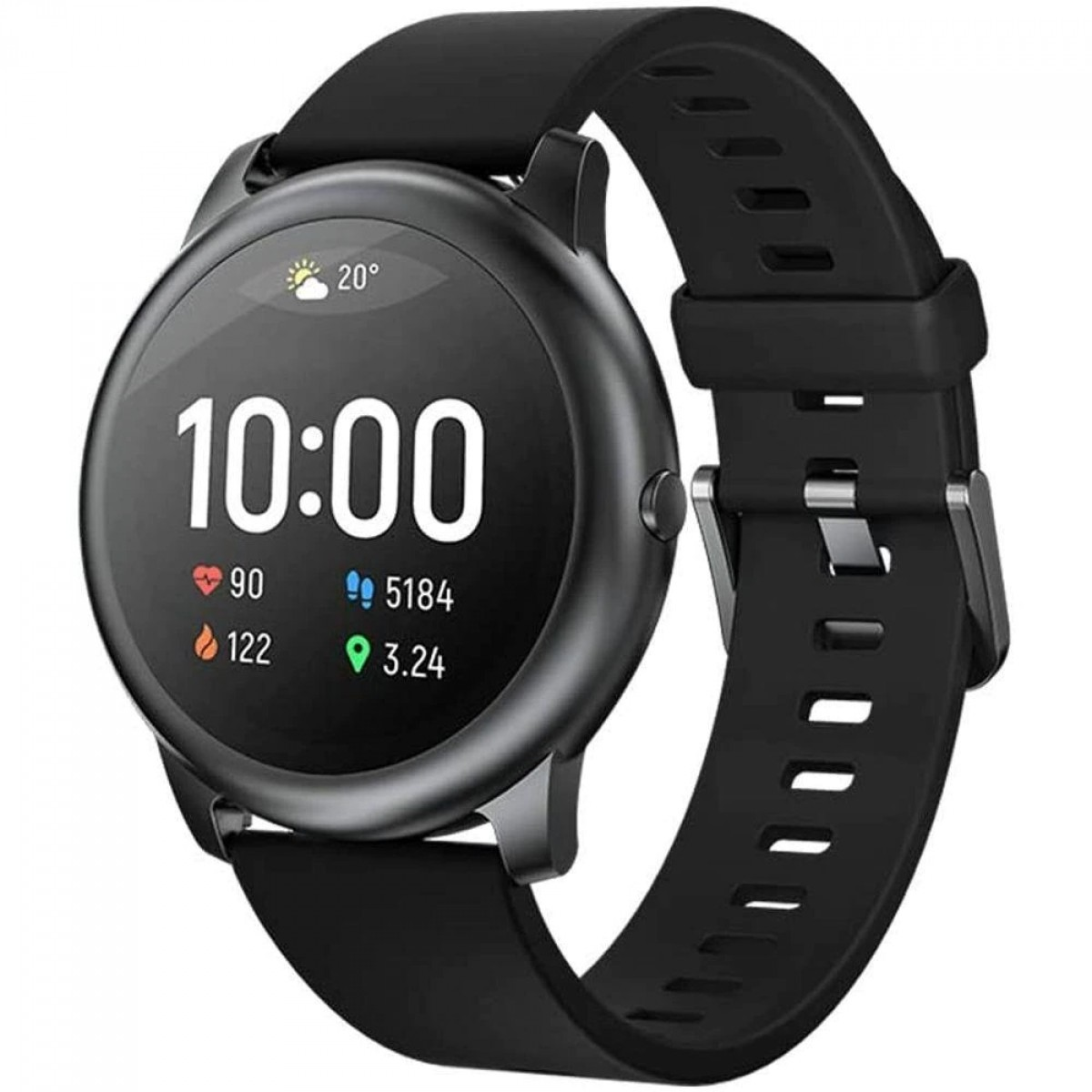 Relógio Smartwatch Xiaomi, Haylou Solar LS05, Bluetooth, Black