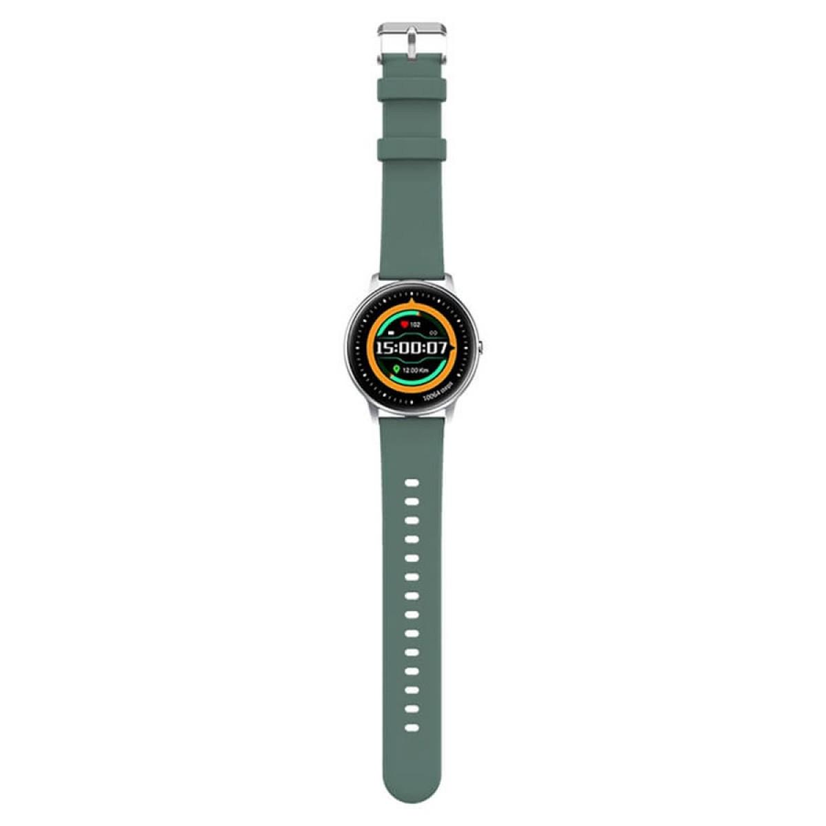 Relógio Smartwatch Xiaomi Imilab KW66, Bluetooth, Black/Green
