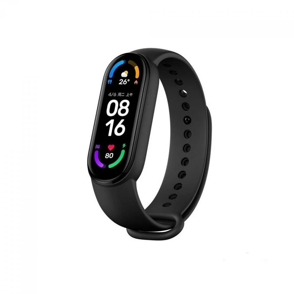 Relógio Smartwatch Xiaomi, Mi Band 6, Bluetooth, Black