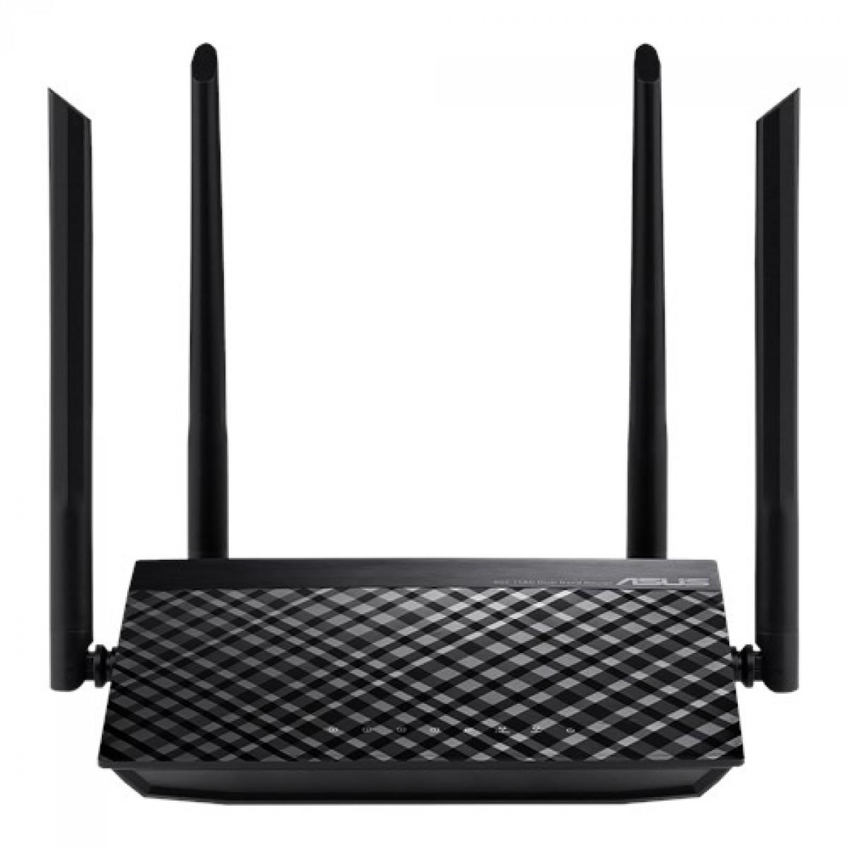 Roteador Asus, RT-AC59U, Wireless, AC1500, 5G, 4K, MU-MIMO, 90IG0540-BY8400