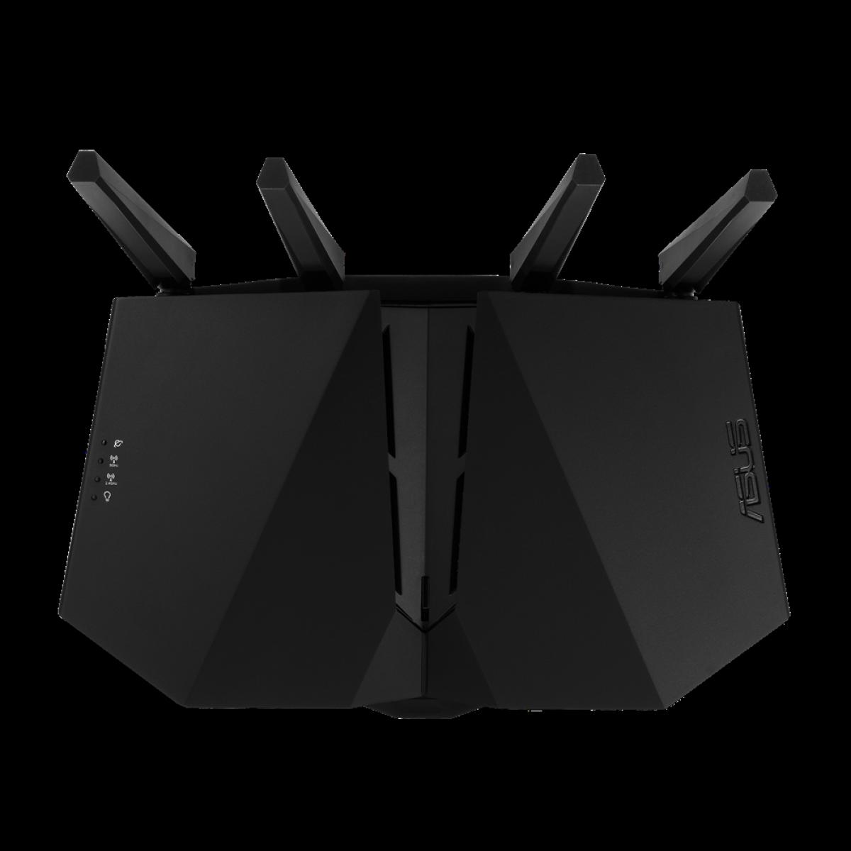 Roteador Asus RT-AX82U, WiFi 6, AX5400, MU-MIMO, 90IG05G0-MO3R10