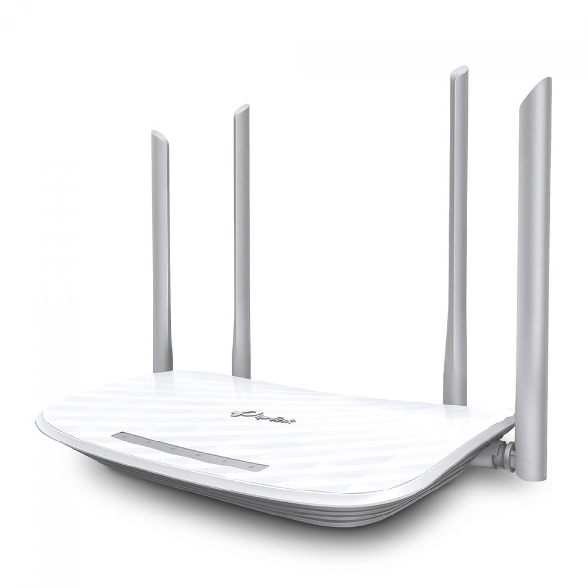 Roteador Wireless N TP-LINK Archer 5 W, Gigabit Dual Band AC1200