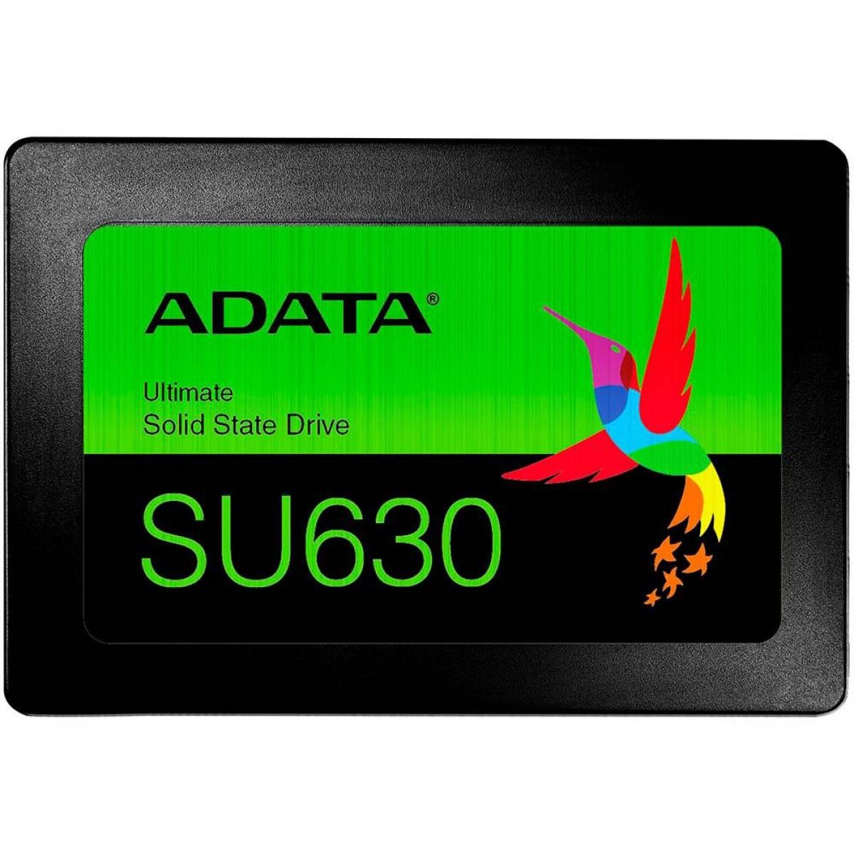 SSD Adata SU650, 120GB, Sata III, Leitura 520MBs e Gravação 450MBs