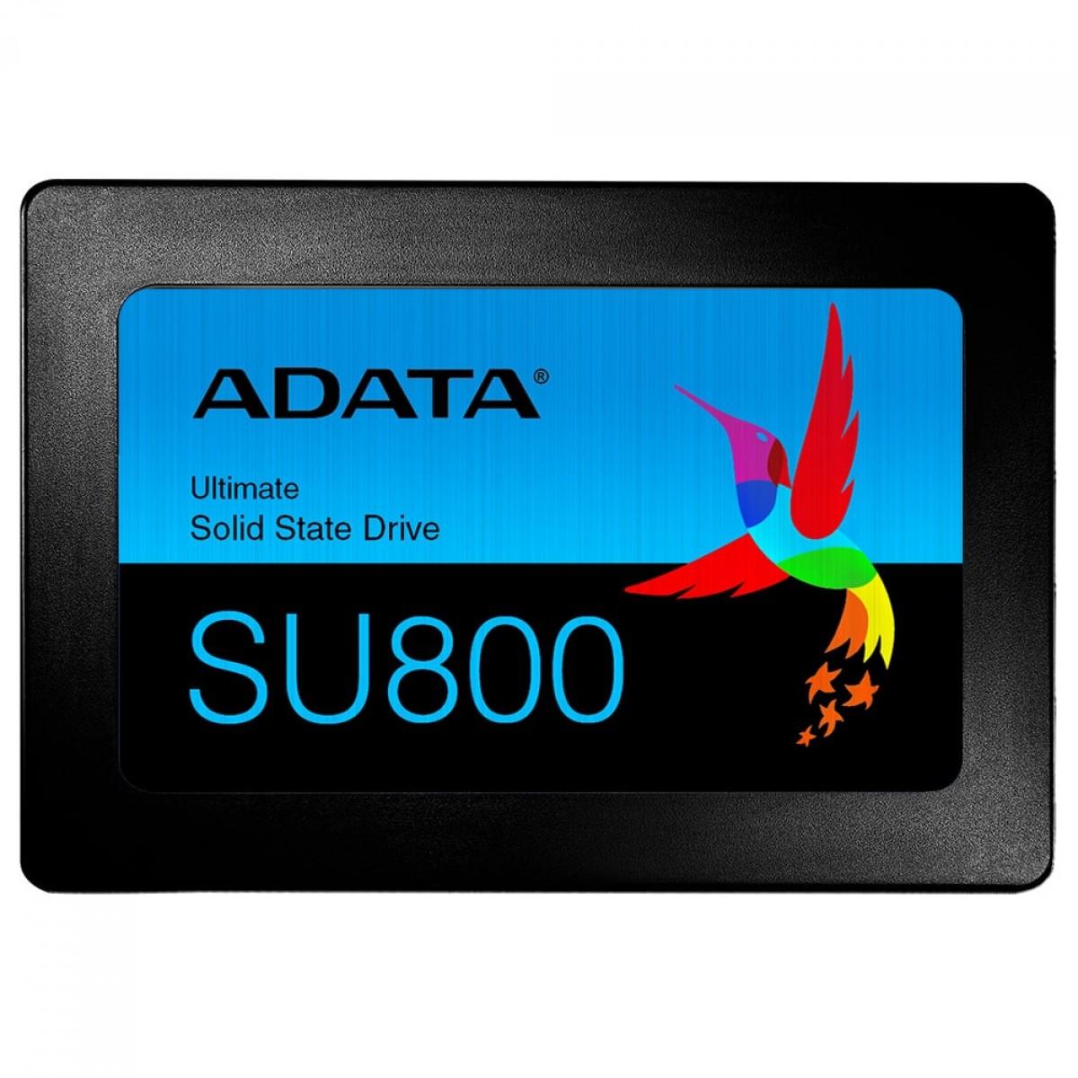 SSD Adata SU800, 1TB, Sata III, Leitura 560MB/s e Gravação 520MB/s, ASU800SS-1TT-C
