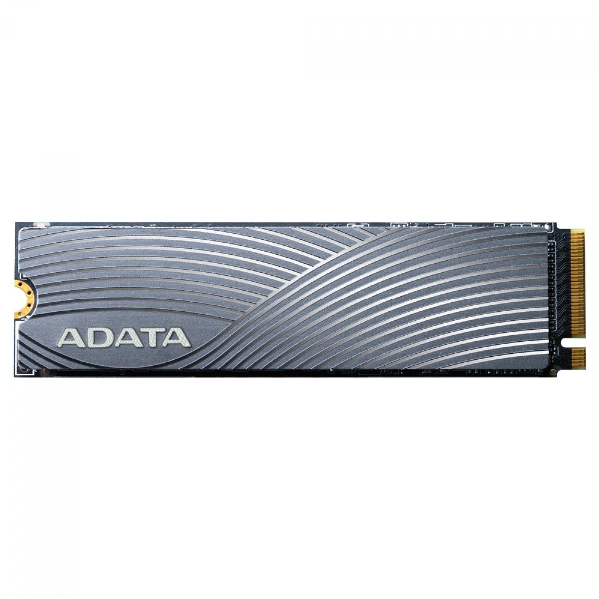 SSD Adata Swordfish 2TB, M.2 2280, Leitura 1800MBs e Gravação 1200MBs, ASWORDFISH-2T-C