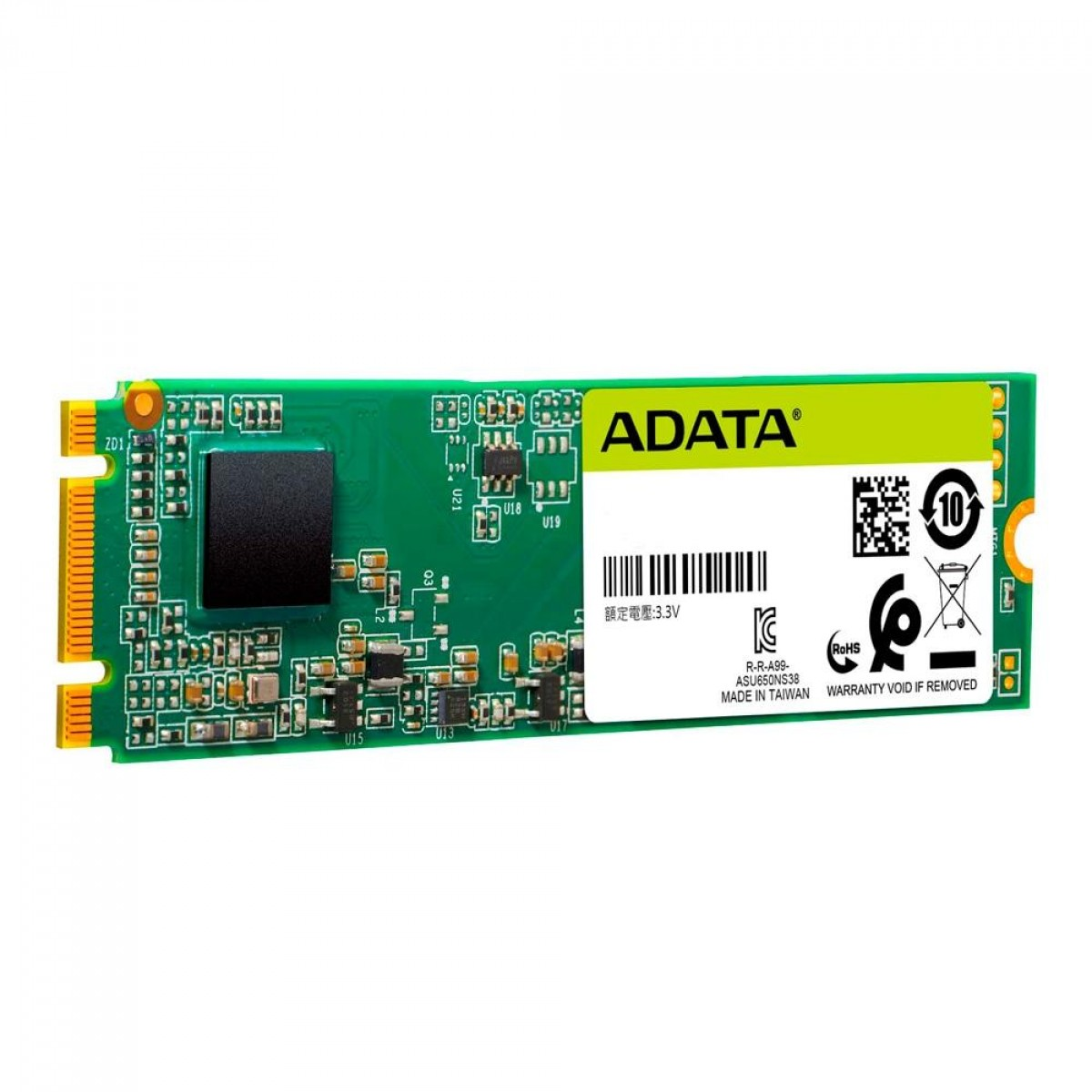 SSD Adata Ultimate SU650 120GB , M.2, Leitura 550MBs e Gravação 410MBs, ASU650NS38-120GT-C