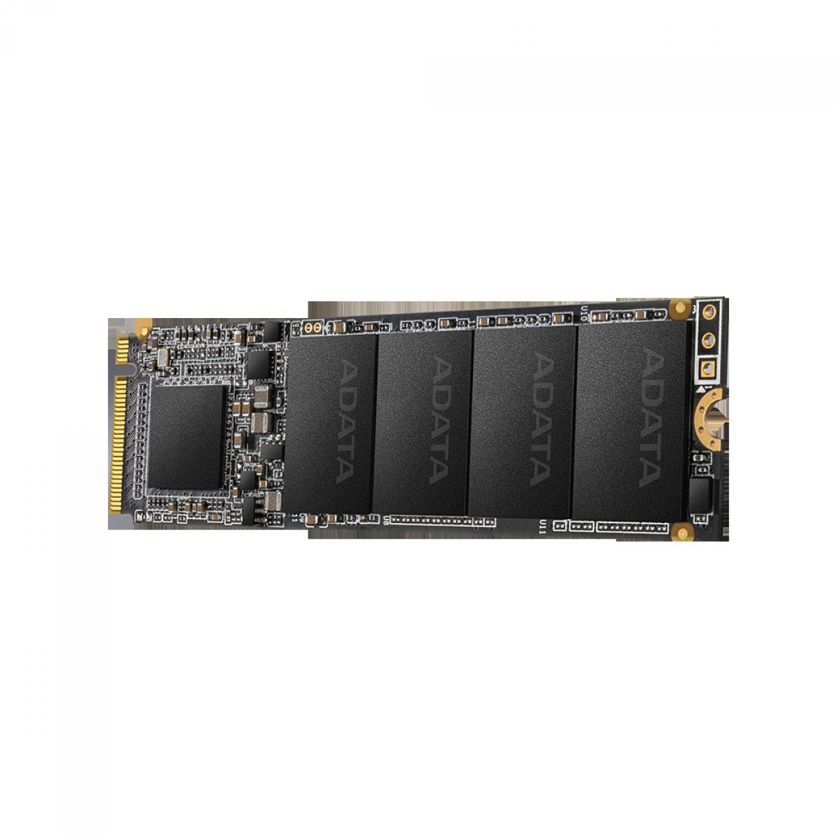 SSD Adata XPG SX6000 Lite 512GB, M.2 2280, Leitura 1800MBs e Gravação 1200MBs, ASX6000LNP-512GT-C