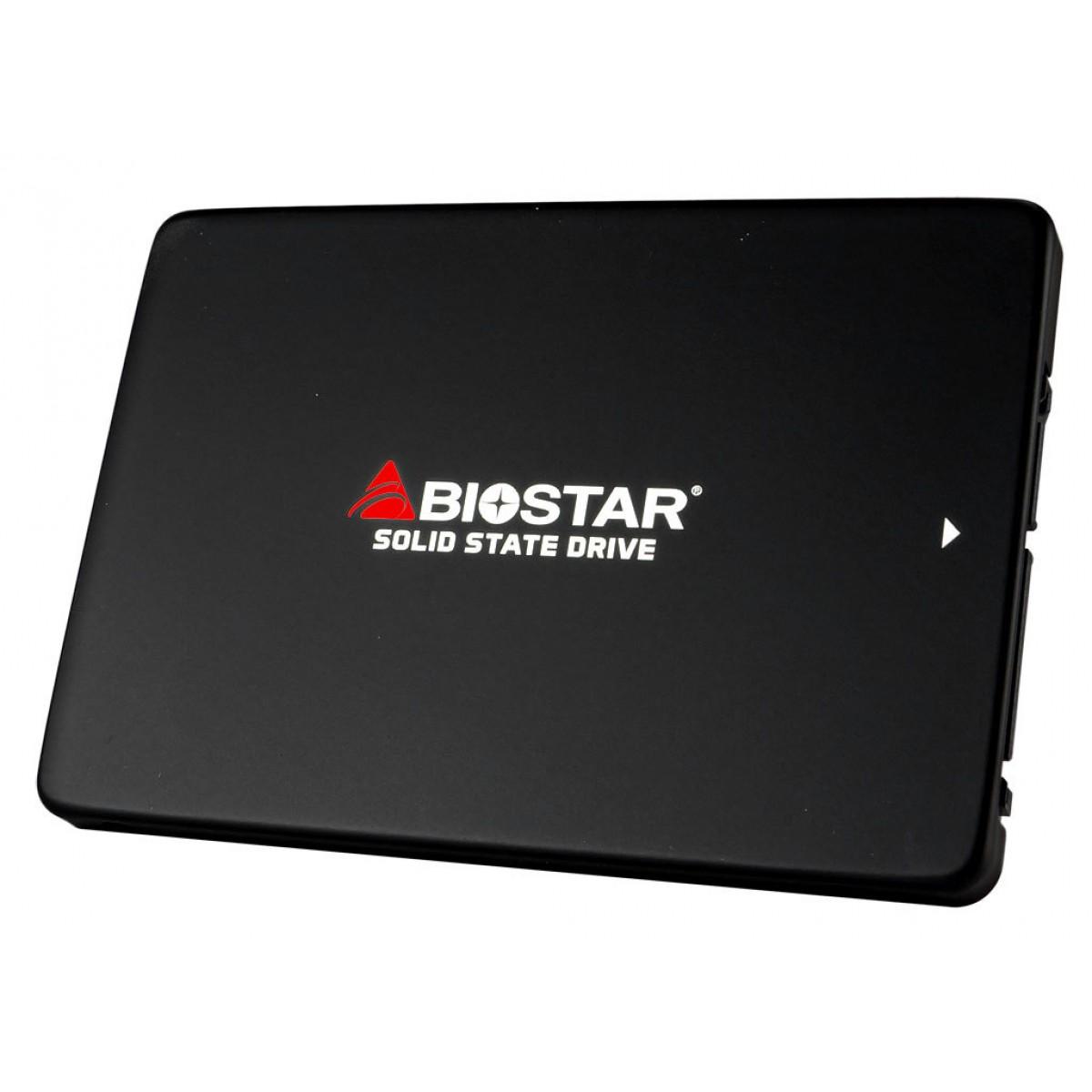 SSD Biostar S100 240GB, Sata III, Leitura 530MBs Gravação 410MBs, SM120S2E32-PM1BH-BS2