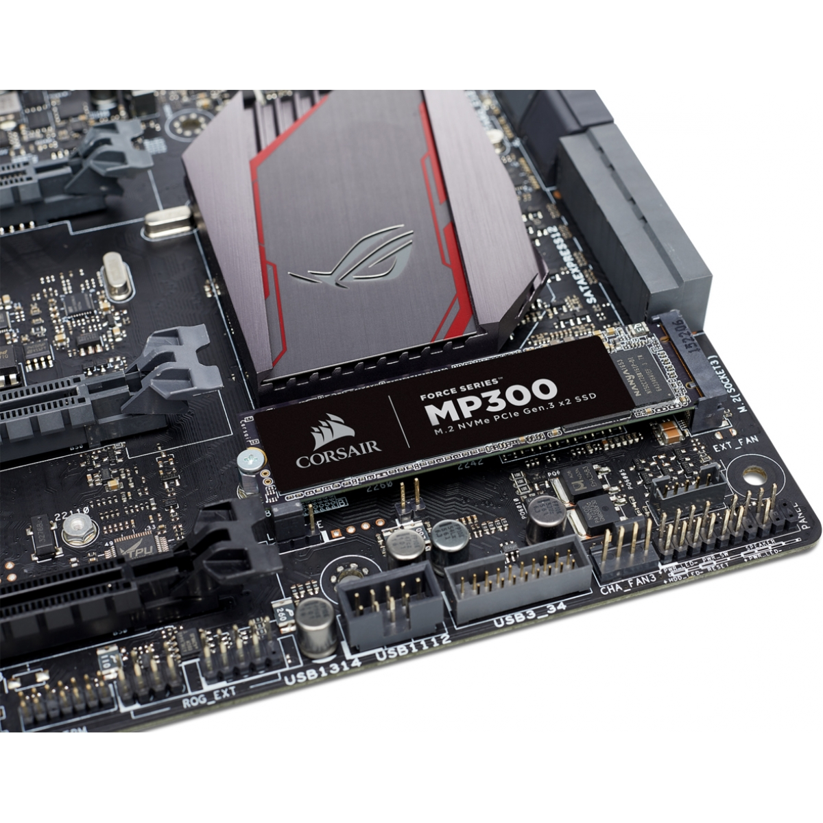 SSD Corsair MP300, 960GB, M.2, Leitura 1600MBs e Gravação 1080MBs, CSSD- F960GBMP300