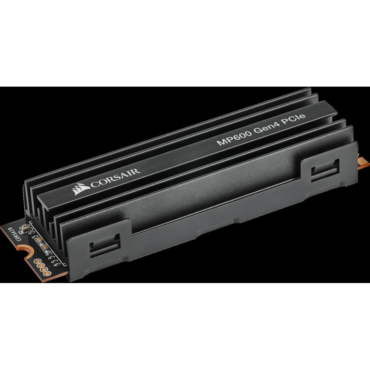 SSD Corsair MP600, 500GB, M.2 2280, NVMe, Leitura 4.950MBs e Gravação 2.500MBs, CSSD-F500GBMP600